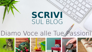Scrivi sul blog