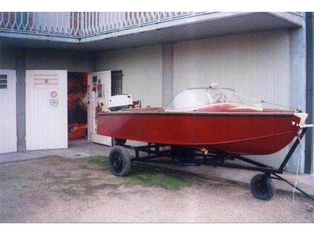 vendo motoscafo d'epoca  - Tognacci Pellicano - 1