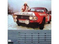 Calendario 1974 Auto 11 Marlboro Lancia Poster Coll.Privata