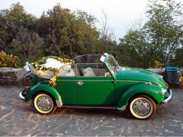 Noleggio Maggiolone Cabrio Verde con autista - 2