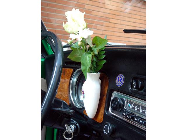 Noleggio Maggiolone Cabrio Verde con autista - 5