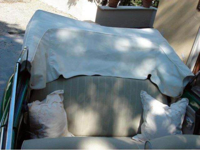 Noleggio Maggiolone Cabrio Verde con autista - 6