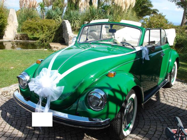 Noleggio Maggiolone Cabrio Verde con autista - 7