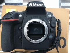 Solo corpo macchina Nikon D810