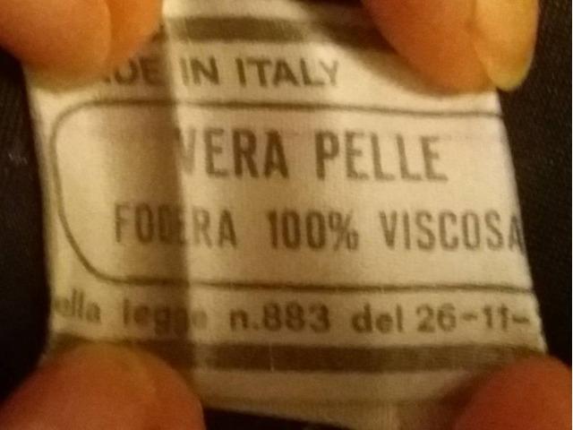 Giubbotto in vera pelle, made in Italy, ottime condizioni