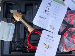 Forbice elettrica Cesoia per potatura Marca Saphir Nuovo