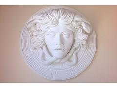 Medusa scultura greca di diametro 60 cm