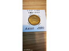 200 LIRE LAVORO ANNO 1980