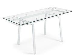 Vendo tavolo allungabile in vetro