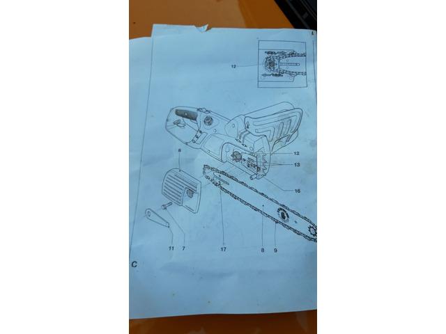 Motosega elettrica Black Decker-30 cm - 3/3