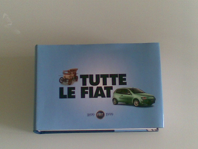 Cofanetto FIAT tutte le auto dal 1899 al 1999 - 1