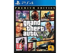GTA 5 GRAND THEFT AUTO 5 V PREMIUM EDITION PS4 GIOCO NUOVO
