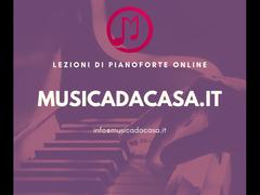 Lezioni di pianoforte e solfeggio online