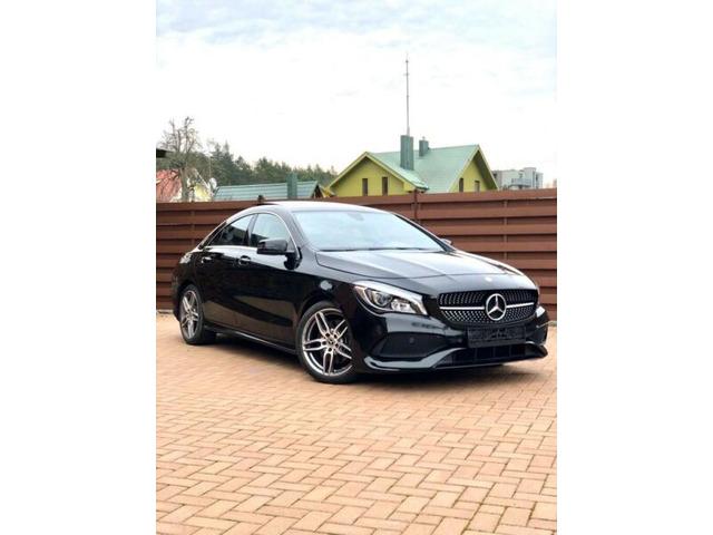 2017 Mercedes-Benz CLA 250 7G-DCT AMG Line KeyleesGo Panoramico