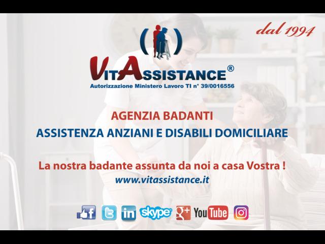 Milano - badante in convivenza e a ore assistenza anziani e disabili