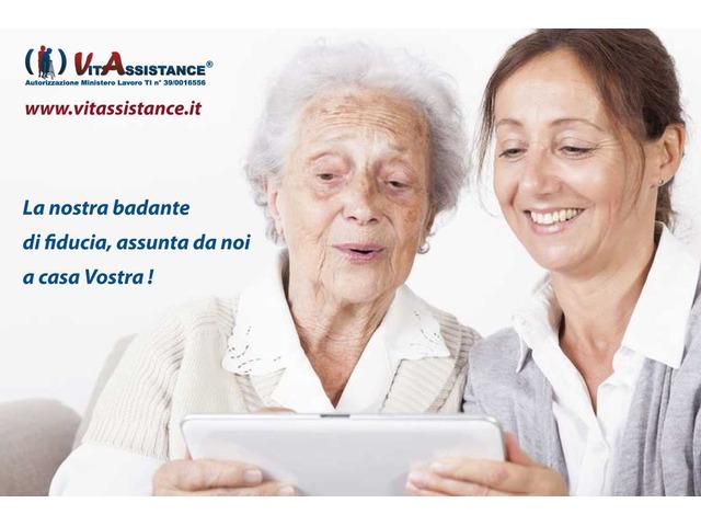 badante in convivenza e a ore assistenza anziani e disabili - 5