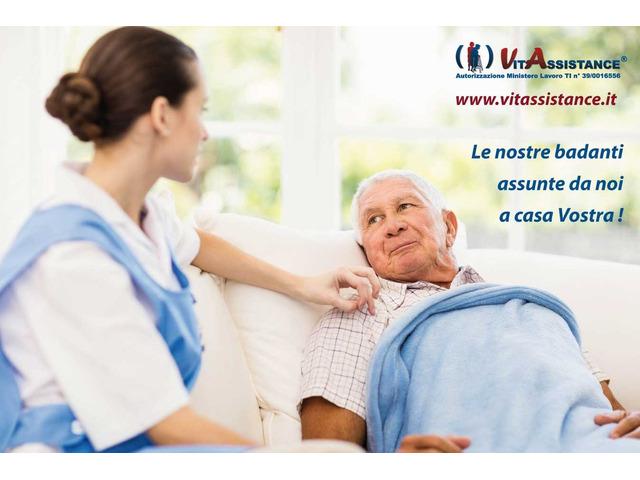 badante in convivenza e a ore assistenza anziani e disabili - 2