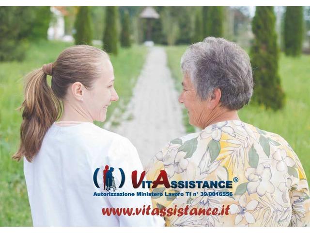 badante in convivenza e a ore assistenza anziani e disabili - 3
