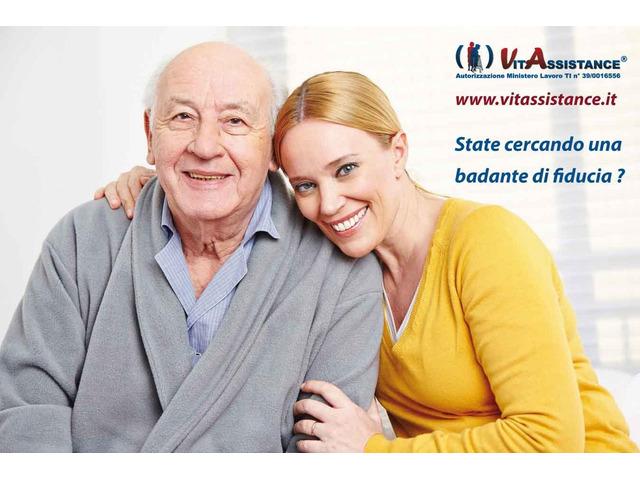 badante in convivenza e a ore assistenza anziani e disabili - 6