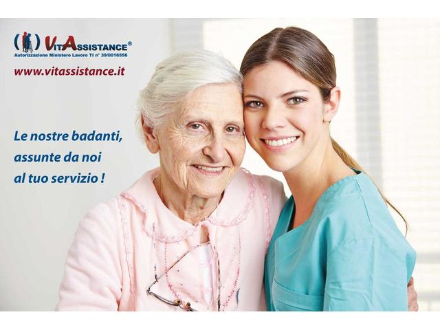 badante in convivenza e a ore assistenza anziani e disabili - 7