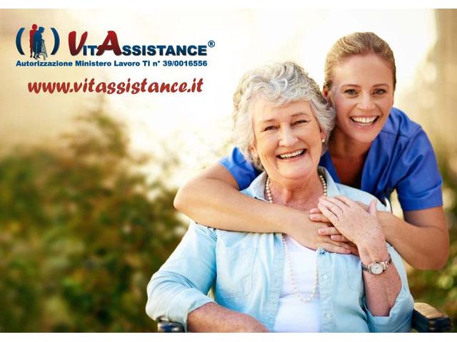 badante in convivenza e a ore assistenza anziani e disabili - 4