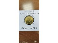 20 LIRE RAMO DI QUERCIA ANNO 1982