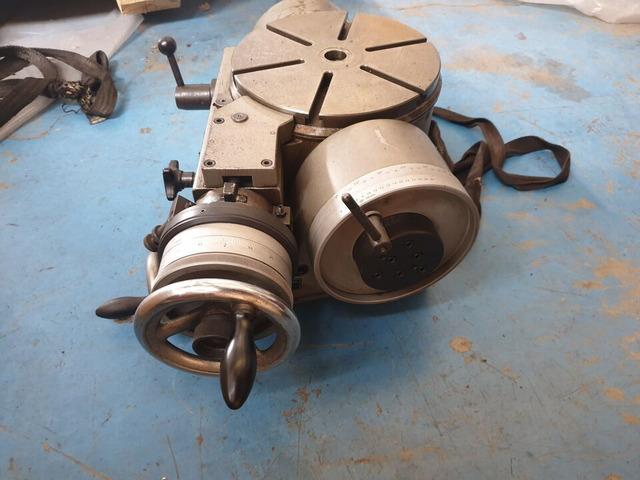 TAVOLA GIREVOLE BASCULANTE D.250mm USATO IN VENDITA