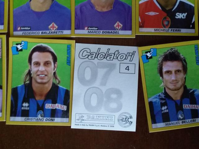 Lotto figurine Calciatori Panini sfuse 07/08