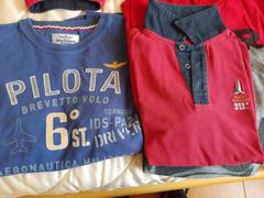 Polo e Tshirt Aeronautica Militare originale