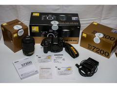 Nikon D7200 + AF-S 18-140mm f/3.5-5.6G ED VR (Kit) GARANZIA NITAL