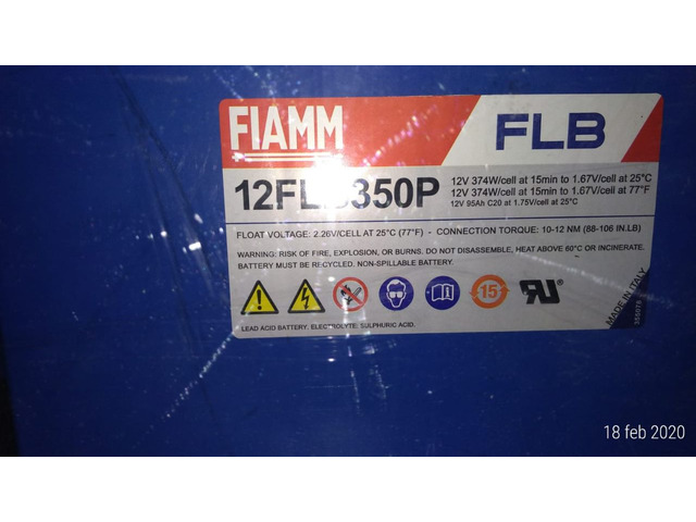 Batteria AGM Fiamm - 2/3