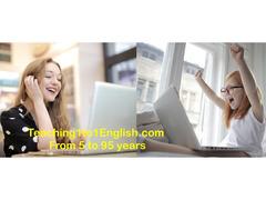 Impara l'inglese online - Teaching 1 to 1 English