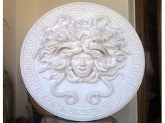 Mito greco di Medusa scultura diametro 49 cm