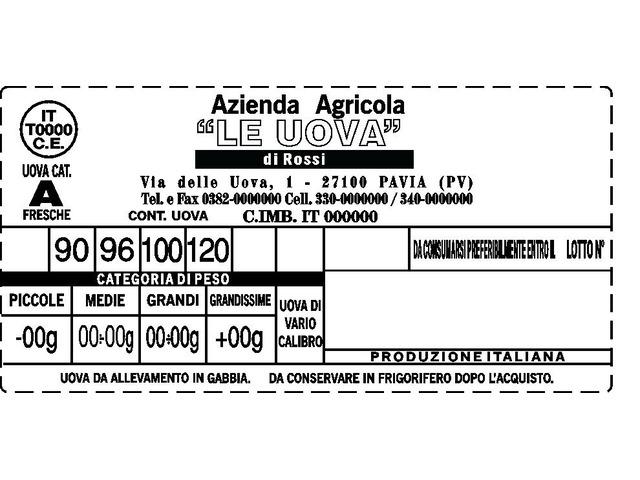 avicoltura etichette adesive - 2/4