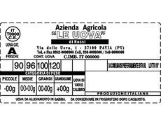 avicoltura etichette adesive - 2