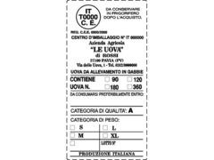 avicoltura etichette adesive - 3