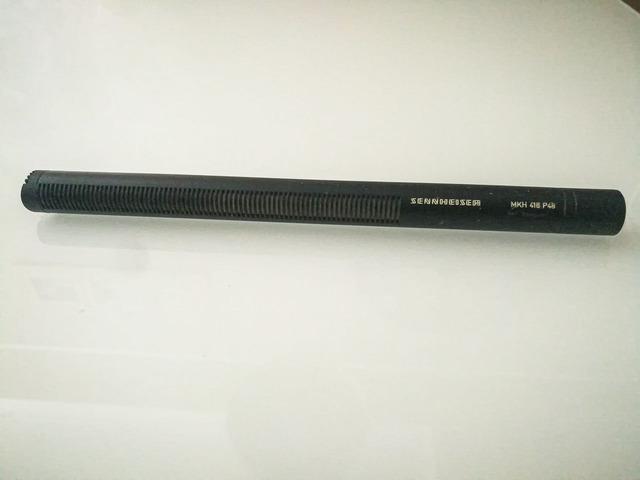 Sennheiser MKH 416 P48 microfono direzionale + accessori