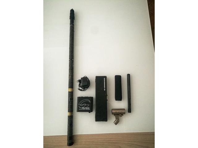Sennheiser MKH 416 P48 microfono direzionale + accessori - 3