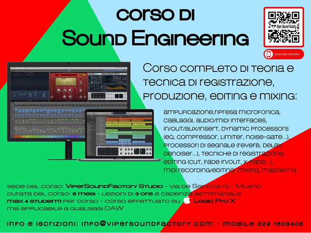 Corso di SOUND ENGINEERING