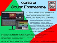 Corso di SOUND ENGINEERING