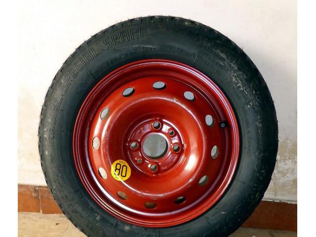 Ruotino rosso di scorta Fiat - 6
