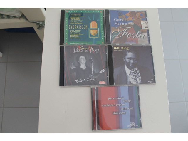CD ORIGINALI MUSICA JAZZ ecc...