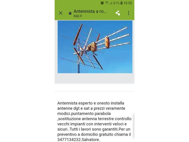 Antennista roma appio tuscolana - 1/1