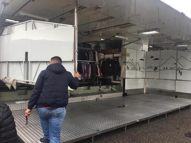 autocarro euro cargo 80.18 negozio auto con pedana idraulica altezza cm da terra 25 modello fiat - 3