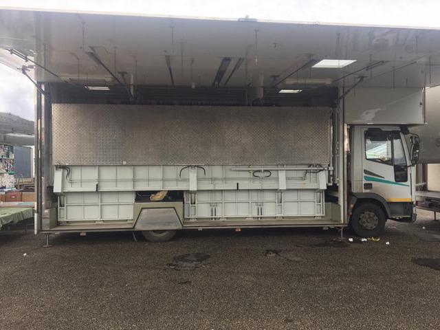 autocarro euro cargo 80.18 negozio auto con pedana idraulica altezza cm da terra 25 modello fiat - 6