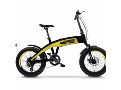 Bicicletta elettrica Scrambler Pieghevole
