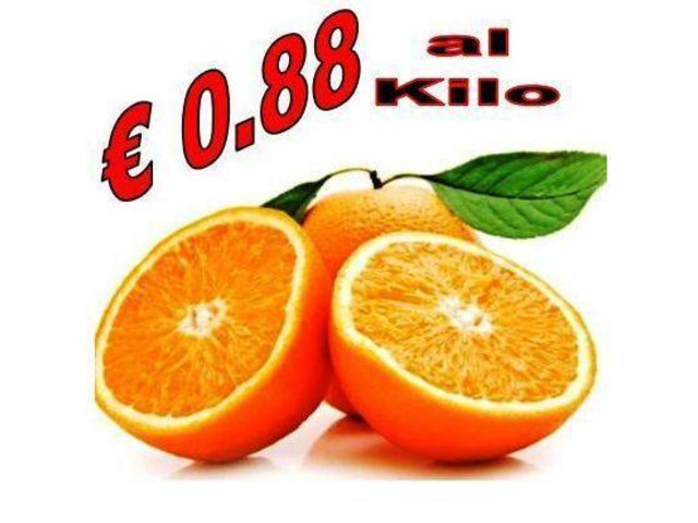 ARANCE NAVELINA CALABRESE AD €0.88/KG