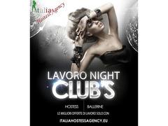 roma-Offro Lavoro In Night Club Cerco Figurante Di Sala Hostess Ragazza Immagine