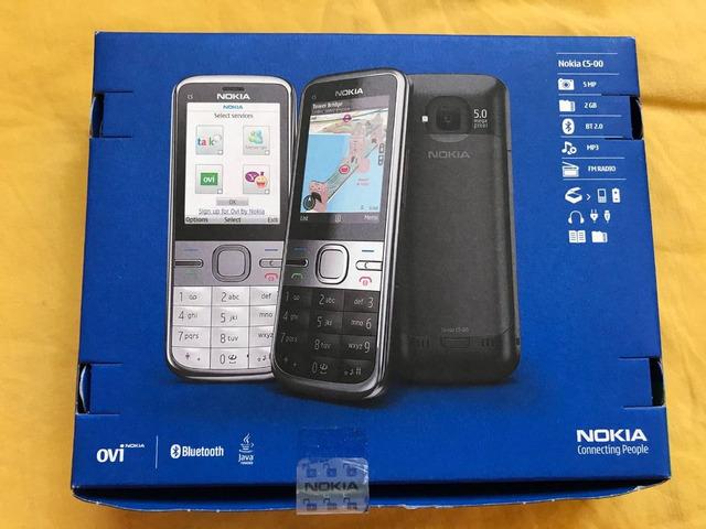 Nokia C5 -00 - 5MP - 1