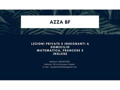 Corso di ripetizione (francese, arabo, inglese e matematica)